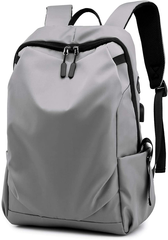 HORSEMEN Business Men's backpack Anti-Theft Water ResistantTravelBags 15 inchSuper Slim USB Students in school bag