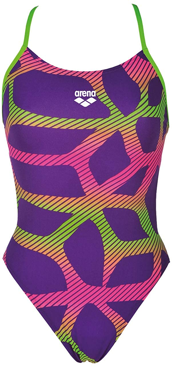 Arena Womens Womens Spider Maxlifebooster Racer Back One Piece