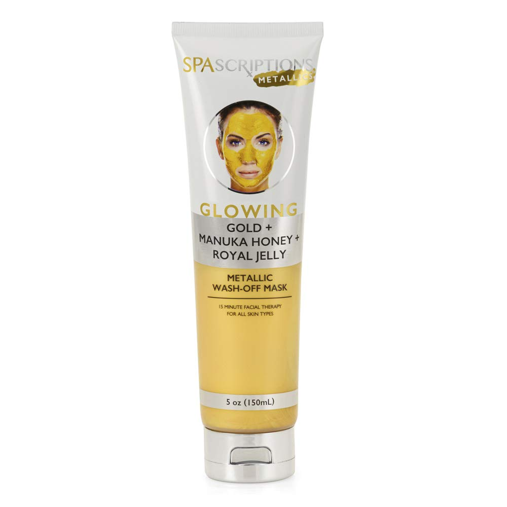 Glowing Metallic Wash-Off Mask - 5oz