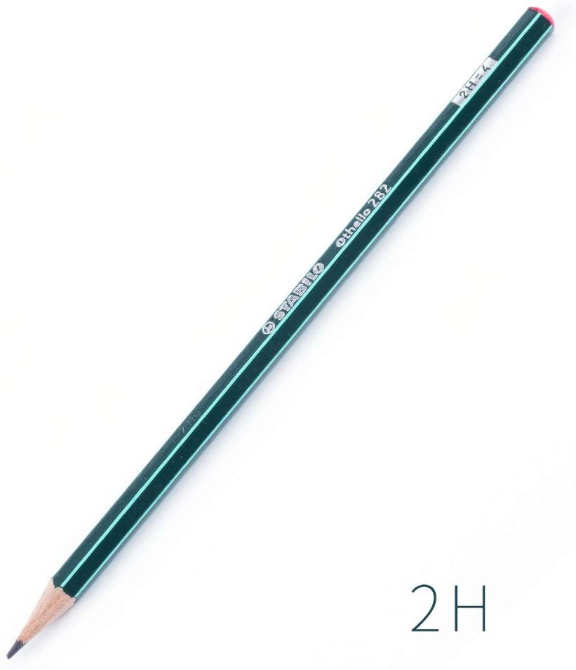 TONGQINH drawing painting pencil sketch pencil 2H not easy to break pencil 5 sticks
