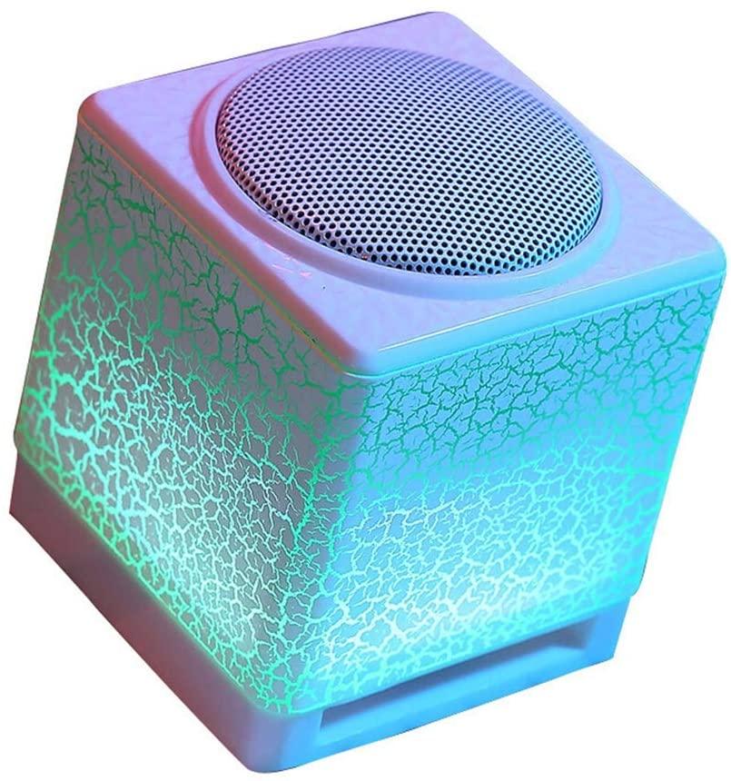 Jiu Si- Bluetooth Speaker Audio Subwoofer - Laptop Audio USB Mini Speaker Multimedia Subwoofer/80X80MM Sound (Color : C)