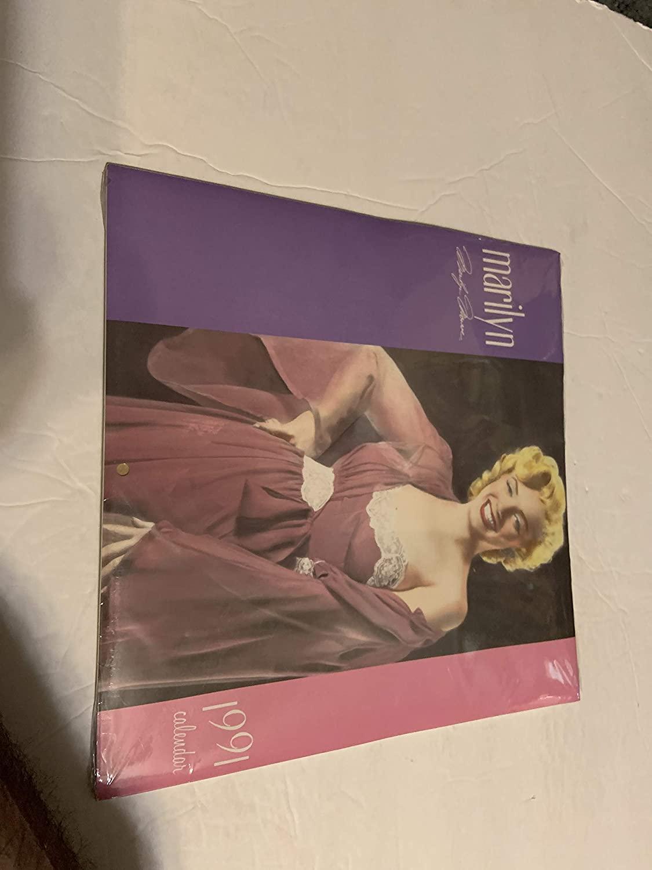 Marilyn Monroe 1991Calendar