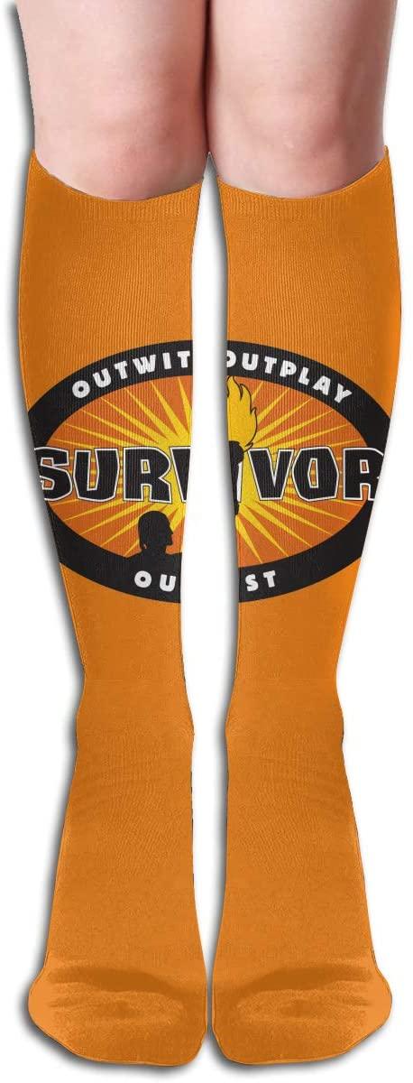 Su_Rvivor CBS Tv Te_Levision Show Women's & Men Socks Knee High Long Socks