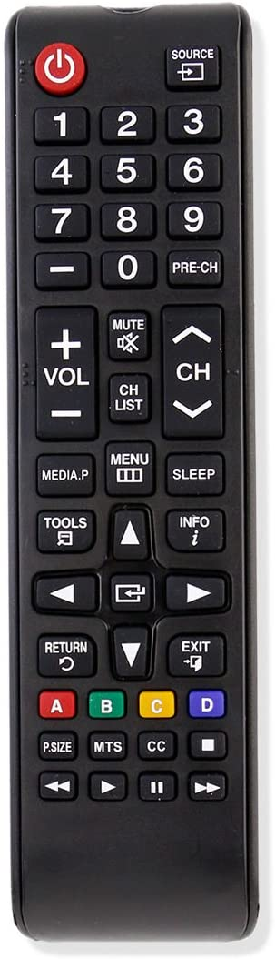 Replacement Remote Control for UN32EH4003F UN32EH4003FXZA UN32EH4003FXZACH02 UN32EH4003V Samsung LED HDTV