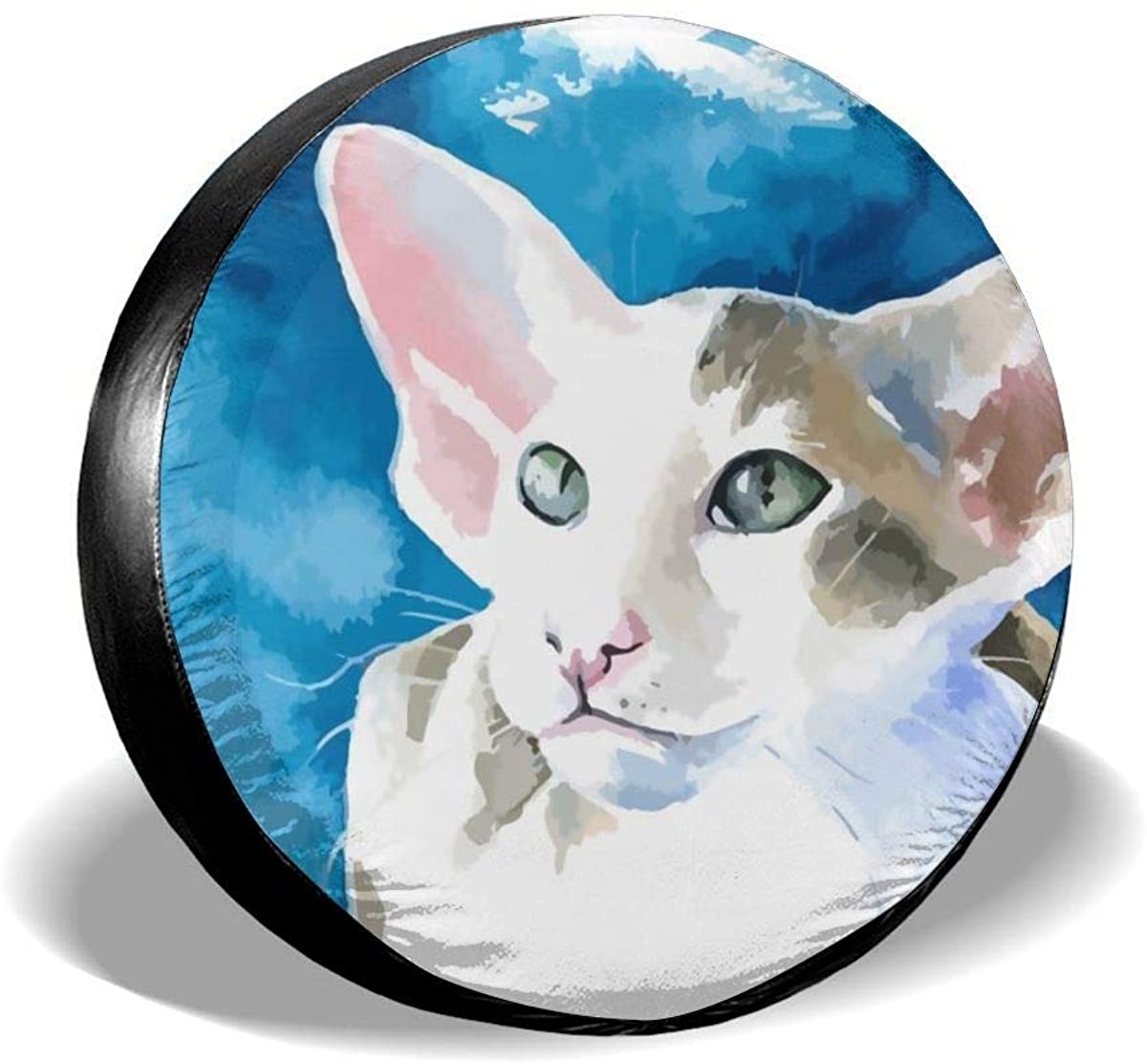 Bomini Spare Tires Covers Cat Wheel Waterproof SUV Campers Travel Rv Trailer Accessories 14 15 16 17inch