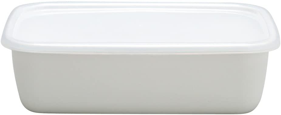 Noda enamel rectangle deep M White Series WRF-M