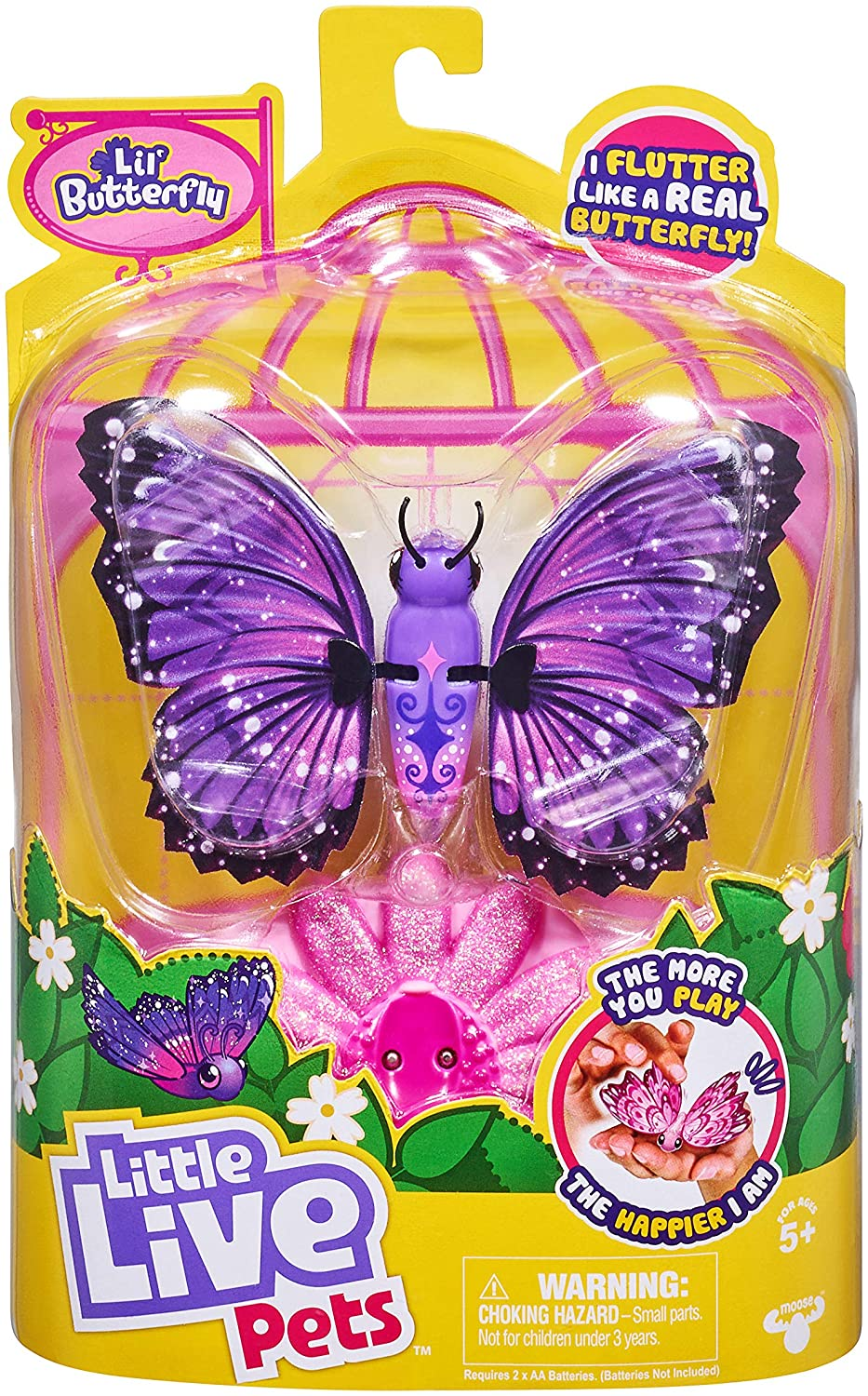 Little Live Pets Lil' Butterfly Single Pack - Rare Wings