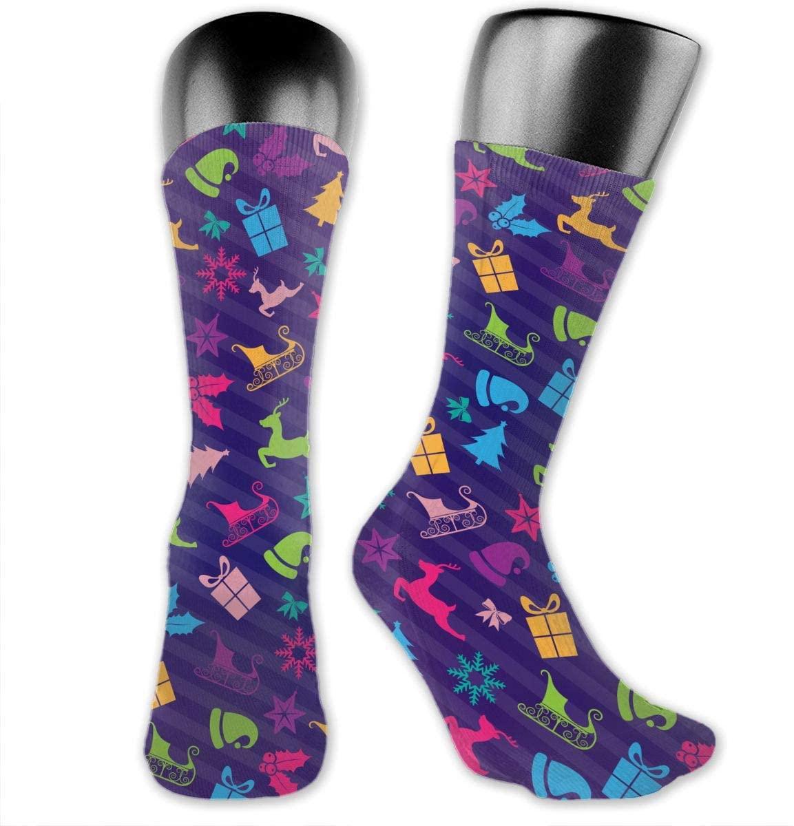 Unisex Outdoor Long Socks Sport Athletic Crew Socks Stockings
