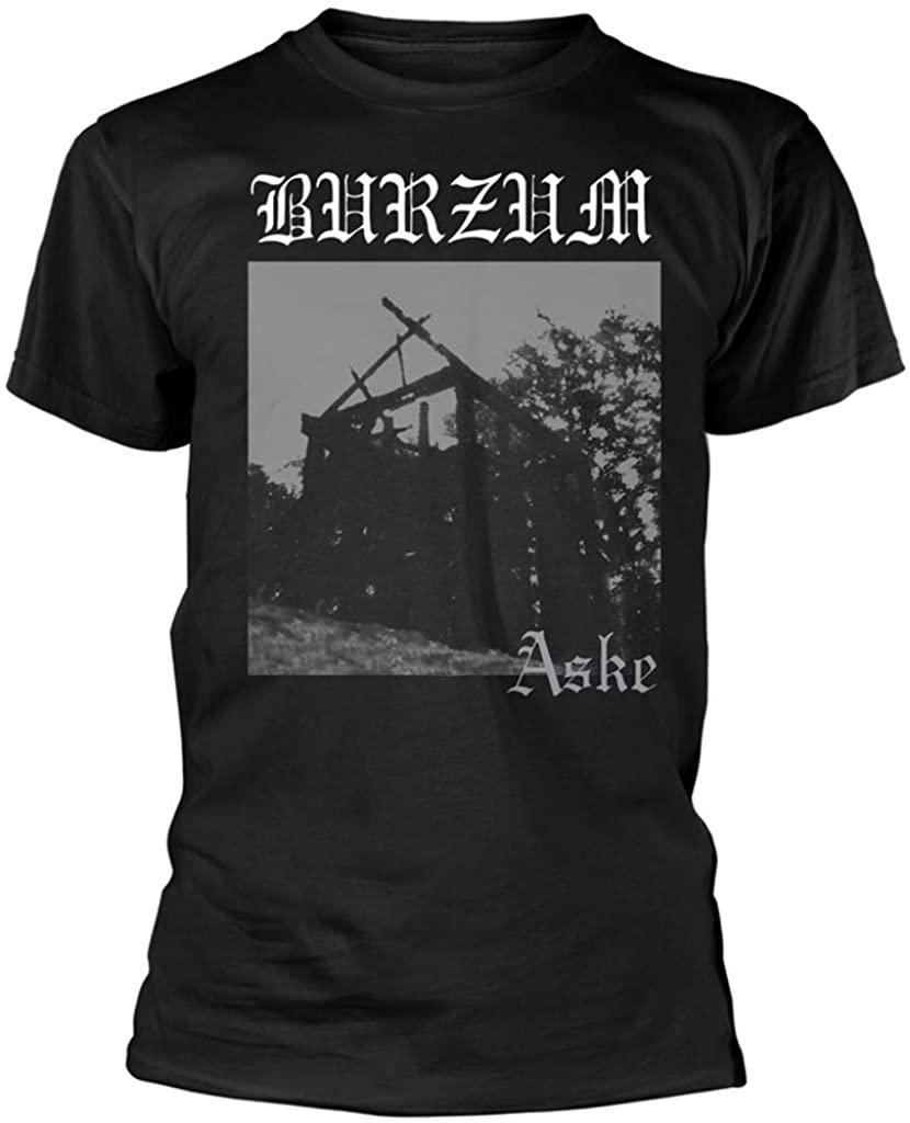 100% Official Merchandise Burzum 'Aske' T-Shirt (S - XXXL)