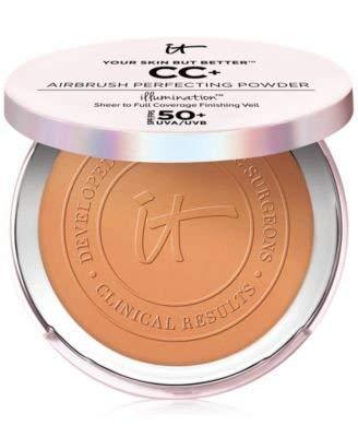 Your Skin But Better CC+ Airbrush Perfecting Powder Illumination SPF 50+ Rich