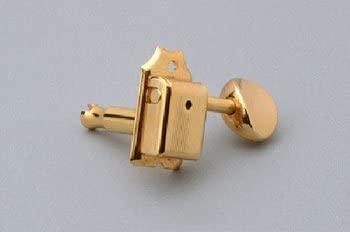 Vintage Tuning Keys Economy 6-inline w/Screws Gold Allparts TK-0780-002