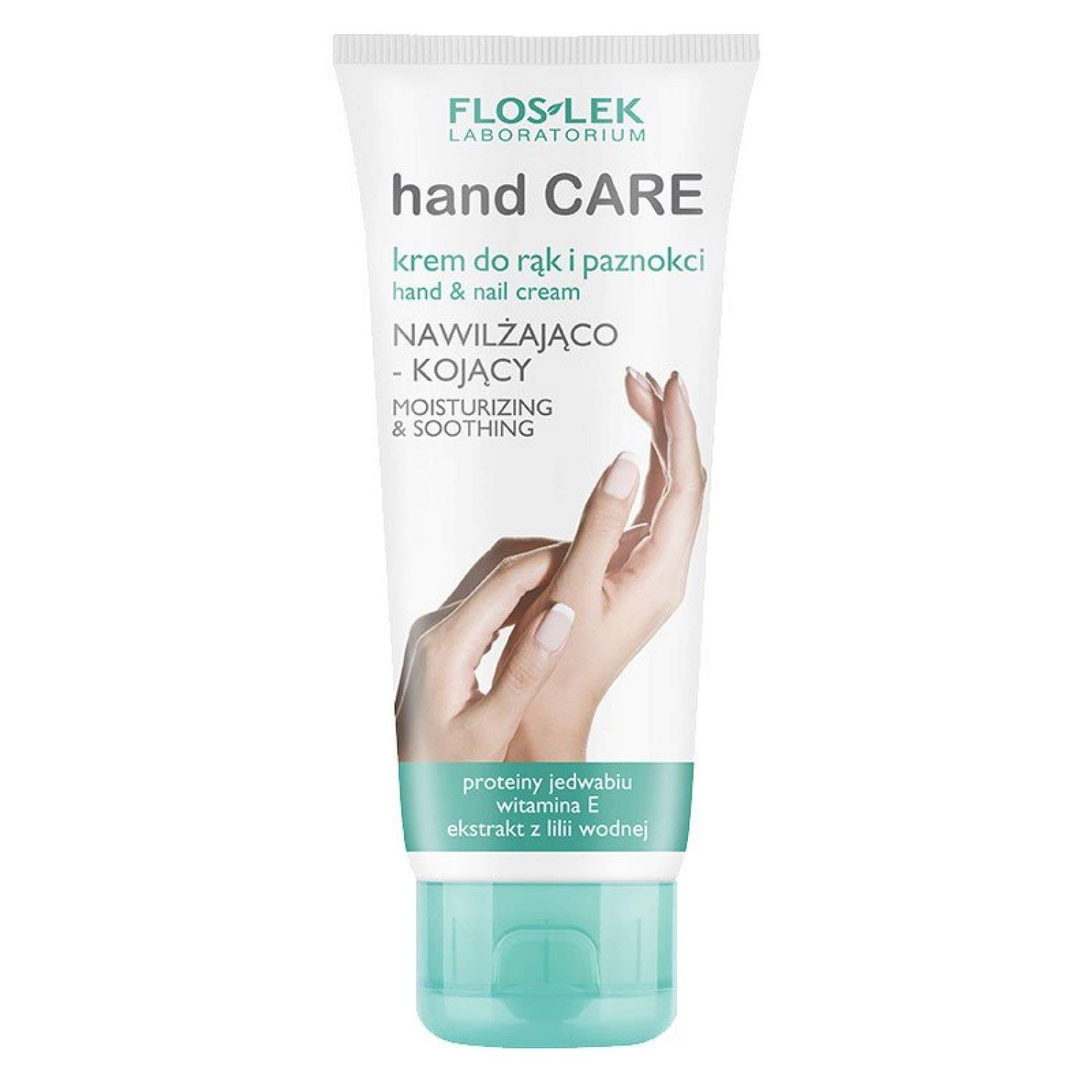 FLOS-LEK Hand Care Moisturizing And Soothing Hand And Nail Cream - 100ml