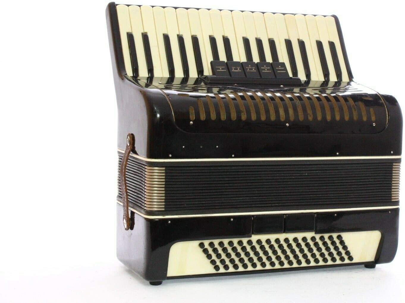 Accordion Vintage Russian 80 Bass LMM Akkordion Fisarmonica + Case