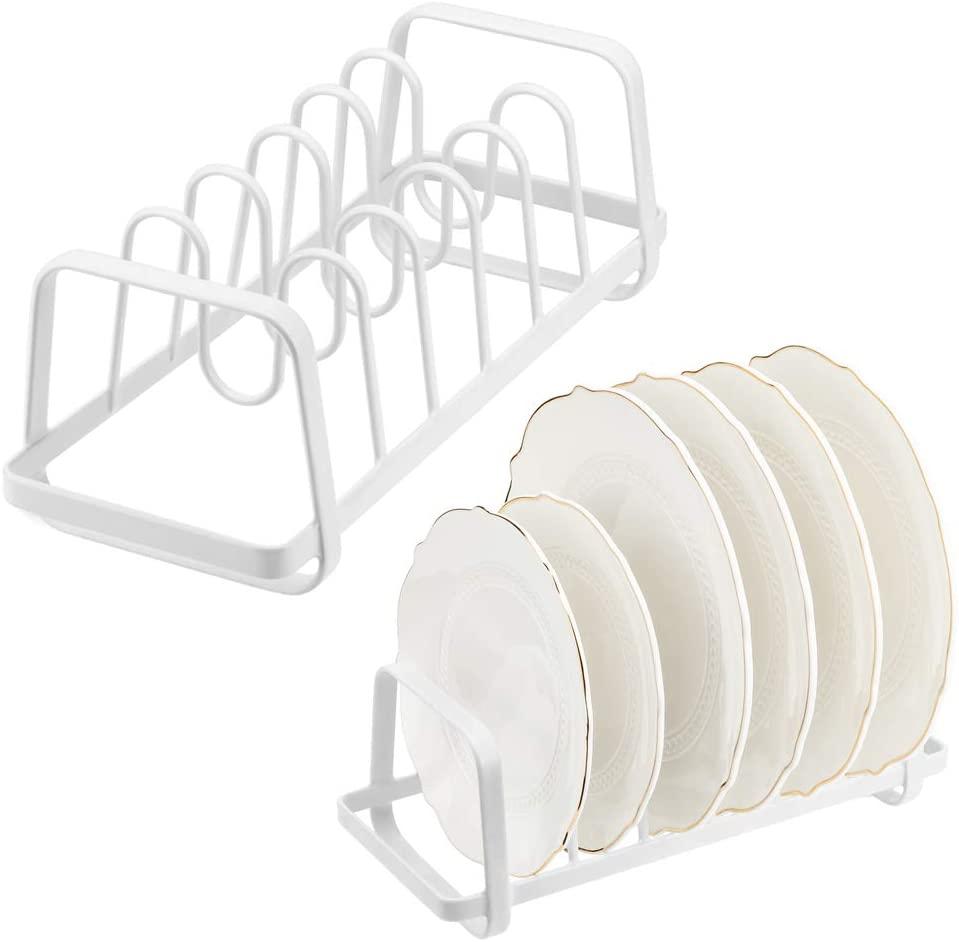 Lid Organizer Pot Pan Lid Rack Bakeware Cupboard Organizer Bakeware Pot Pantry and Cabinet Holder,2 set
