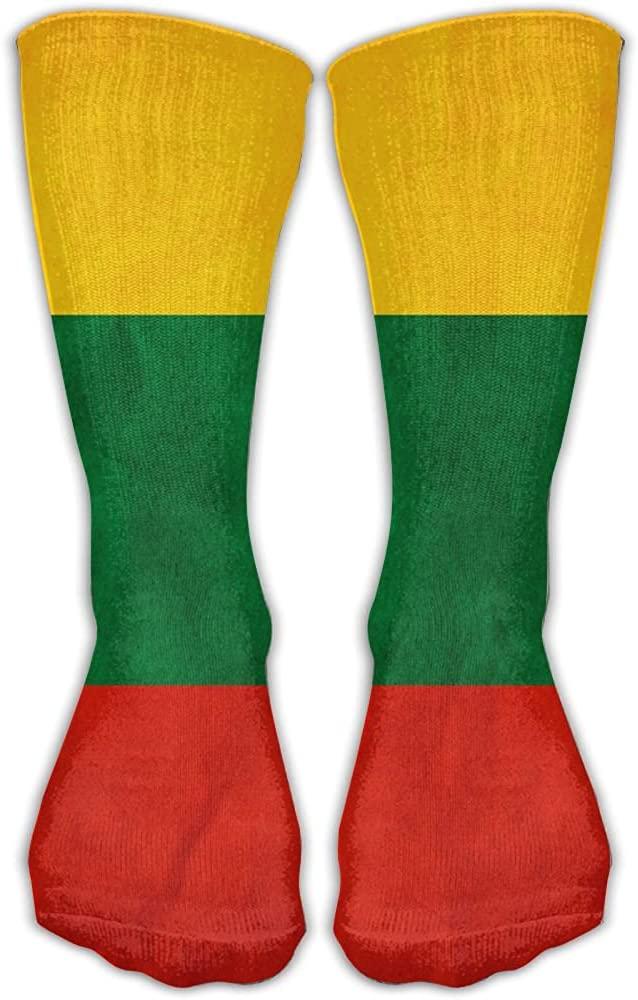 TO-JP Lithuania Flag Crew Socks Short Sports Socks