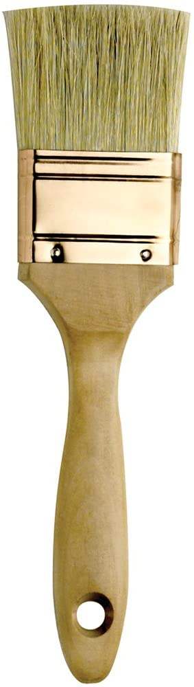 Loew-Cornell 2-Inch Wood Handle Natural Bristle Gesso Brush