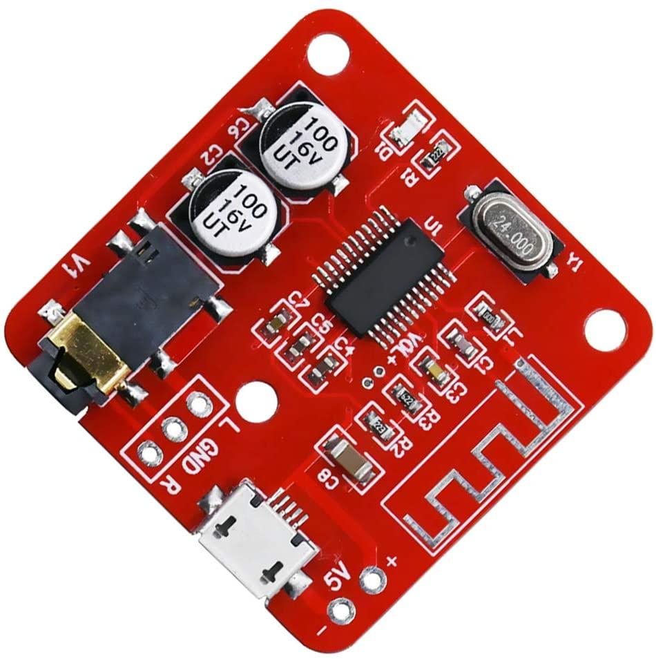 Taidacent XH-A250 Bluetooth Decoder Module 4.2 Lossless Receiving Module DIY Car Audio Amplifier Modified Wireless Bluetooth USB MP3 Decoder Board