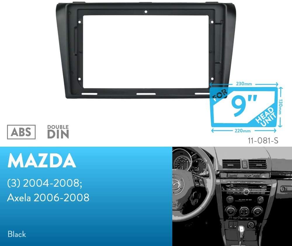 UGAR 11-081S Trim Fascia Installation Mounting Kit for Mazda (3) 2004-2008; Axela 2006-2008