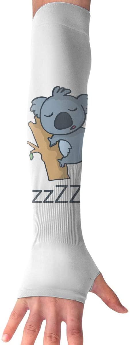 TO-JP Sports Arm Sleeves UV Sun Protection Arm Sleeves Cute Koala Cooling Arm