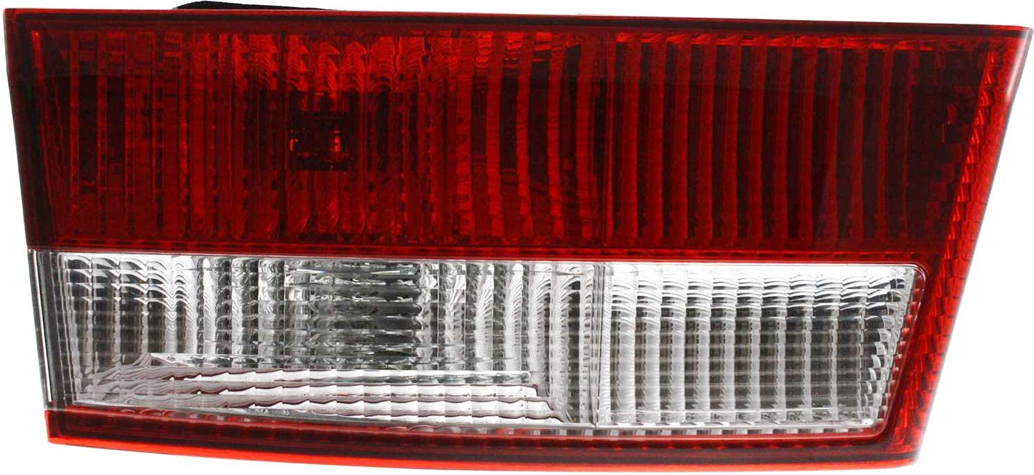 Tail Light Assembly Compatible with 2003-2005 Honda Accord Inner Sedan Driver Side