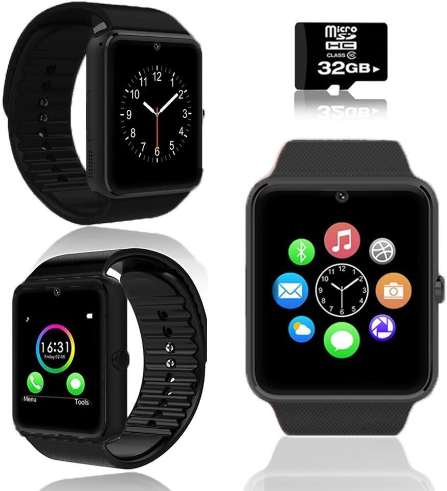 Trendy GT8 Bluetooth Smart Watch + Sleep Monitor/Pedometer + Free 32GB microSD