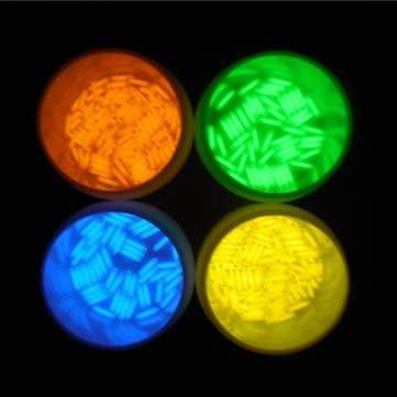 Flashlight Tritium Gadgets - 1pcs 1.5x6mm Trit Vials Tritium Multicolor Self-luminous 15-Years - Blue