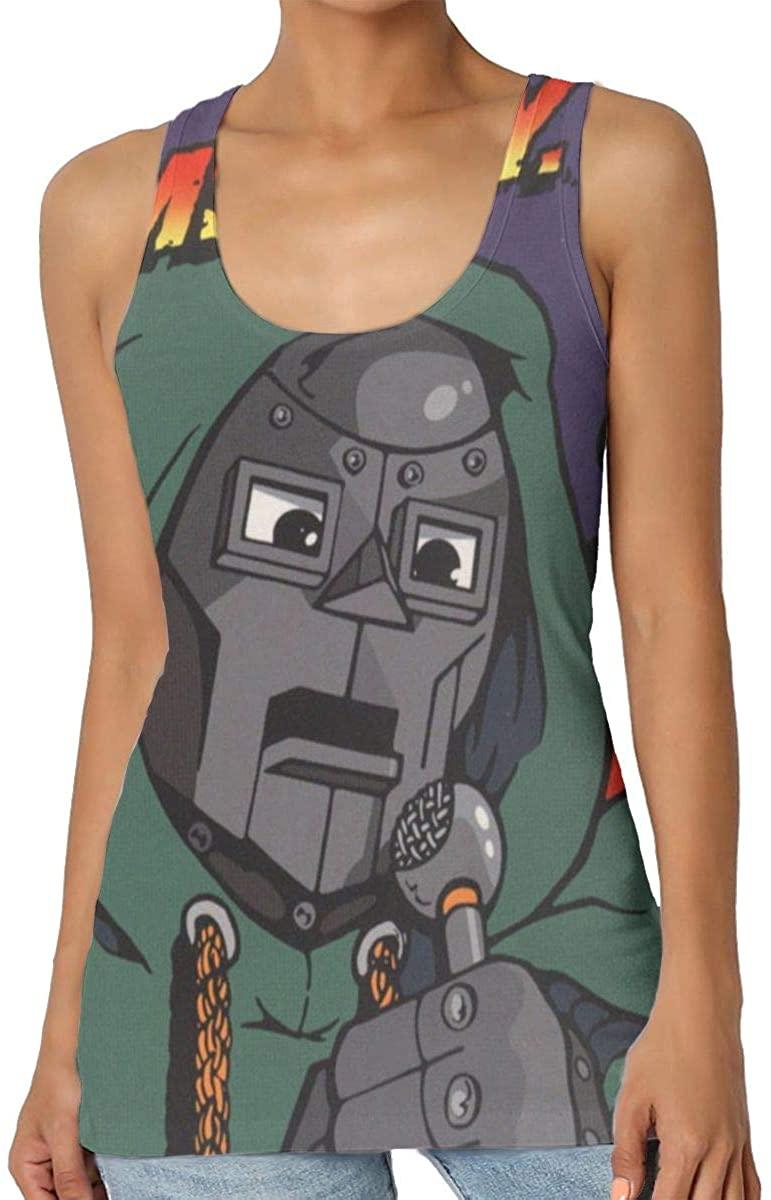 Dfmdfng MF Doom Training Women Fashion Seamless Premium Classic Tank Top