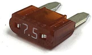 7.5 AMP MINI ATM BLADE-TYPE FUSE- 100PK