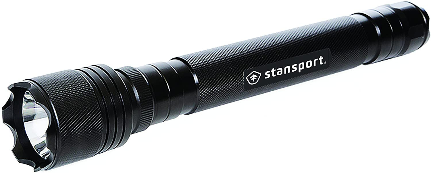 Stansport Heavy-Duty Tactical Cree LED Flashlight - 700 Lm