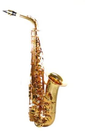 Chateau Alto Saxophone Student Model VAS-500DE Dark lacquer finish