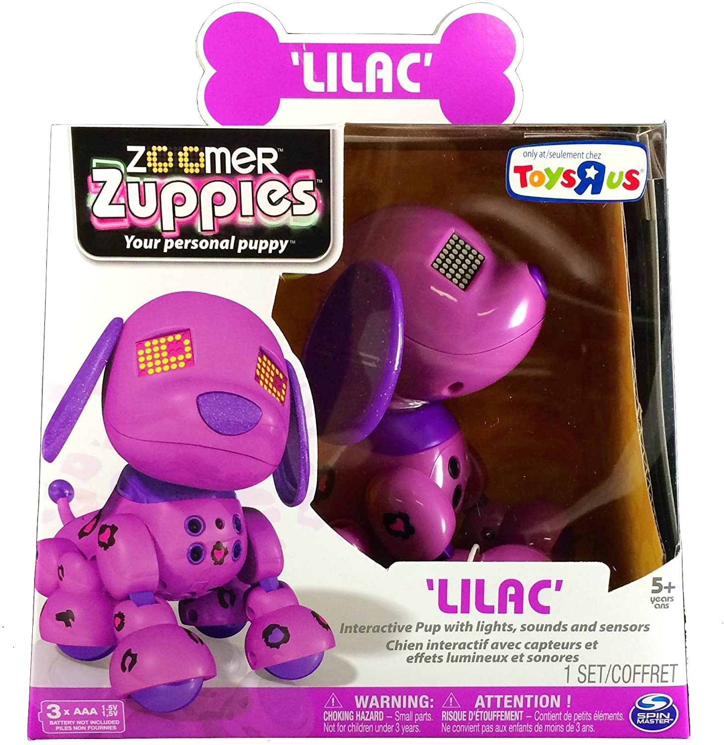 Zoomer Zuppies Interactive Puppy - Lilac