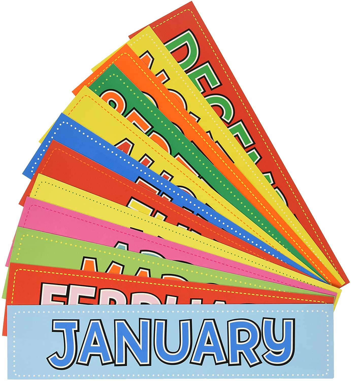 Month Calendar Cards-