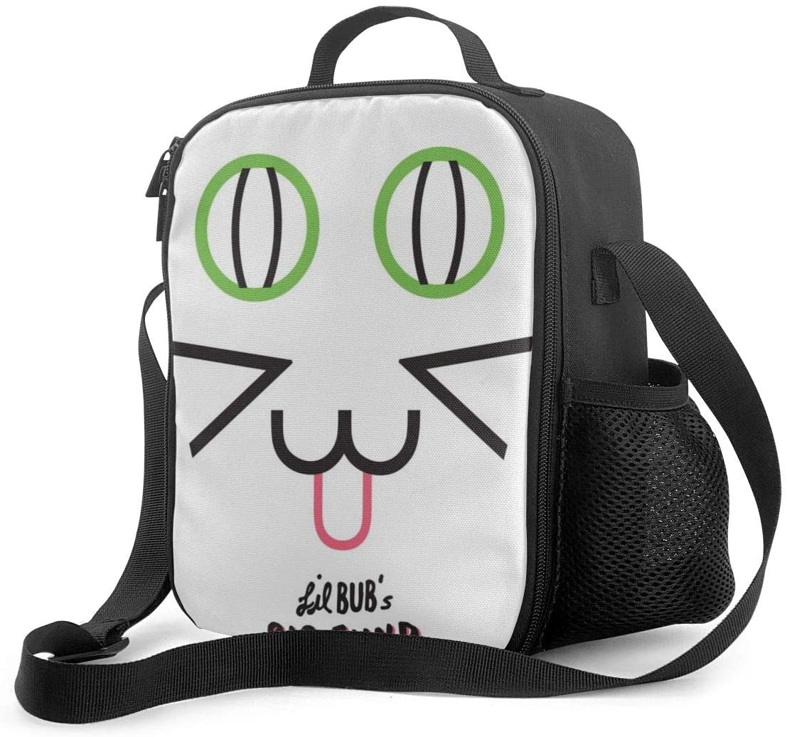 Aspca Lunch Bag Insulated Lunch Box Wide-Open