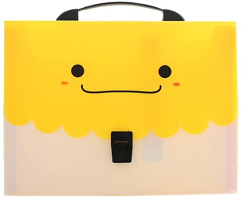 [Smiling Face]13-Pockets File Folder Document Expanding File Organizer, C