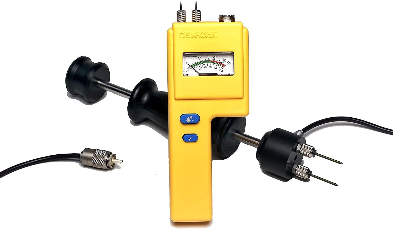 Delmhorst BD-10/26/PKG Analog Moisture Meter Flooring Package with 324CAS-0066 Case, 26-ES, (10) 496 Pins