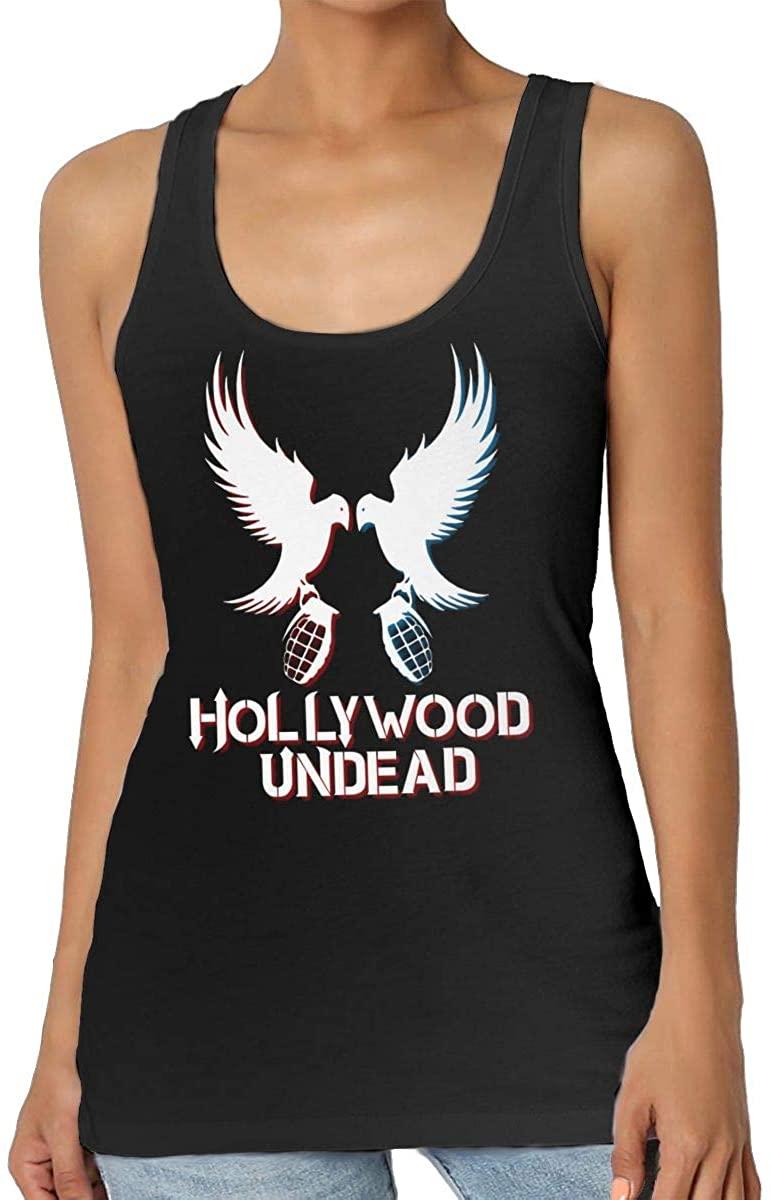 StephaSport Hollywood Undead Womans Senior Round Neck Polyester Pattern Vest