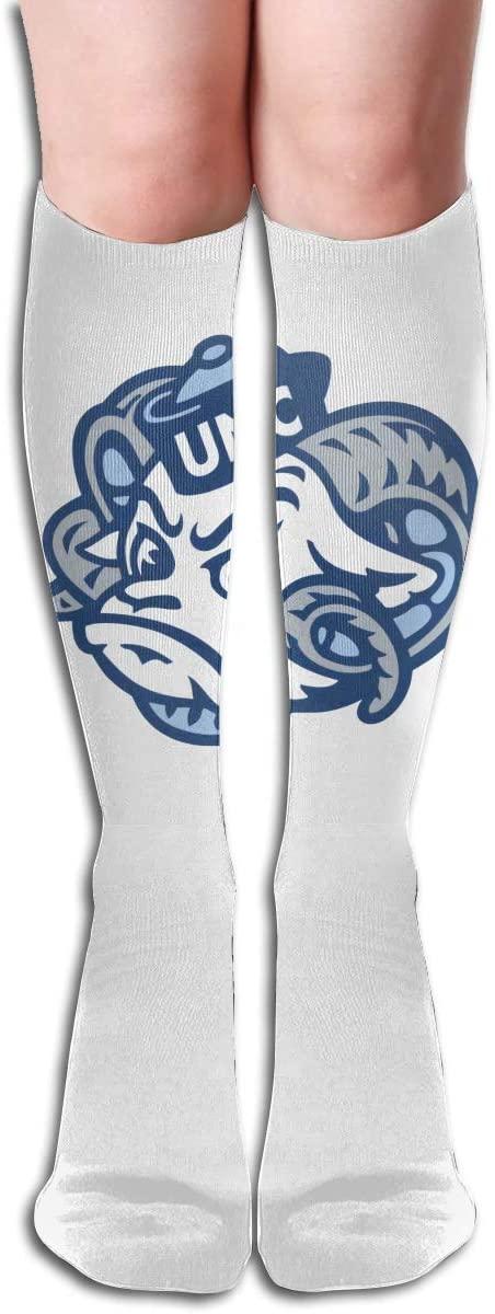 UNC Men's/Women's Comfortable Casual Funny Long Knee High Socks Compression Socks Winter Warm Soccer Socks