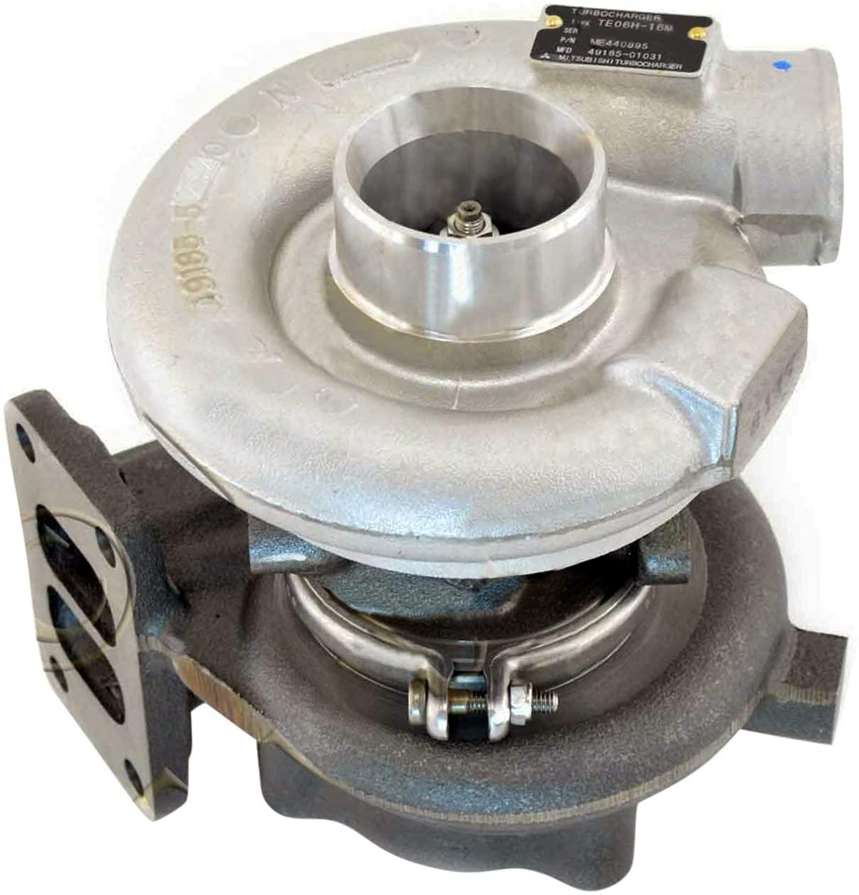 Weelparz Turbo TE06H-16M Turbocharger VAME440895 ME440895 For New Holland Excavator E215 EH215 Mitsubishi Kobelco SK200 235SR SK235SR-1E Engine 6D34 6D34TL