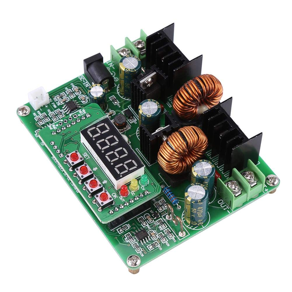 38V 6A Power Step-Down Module,DC-DC Digital Voltage Step-up Step-Down Module Boost Buck Converter Board,Step Down Voltage Converter