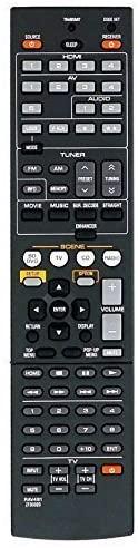 LR General Replacement Remote Control Fit for 491 RAV331 HTR-3064 RAV434 RAV434-WW510600 HTR-5064 YHT-595 HTR-6295 RX-A800 YHT-595BL for Yamaha AV Receiver