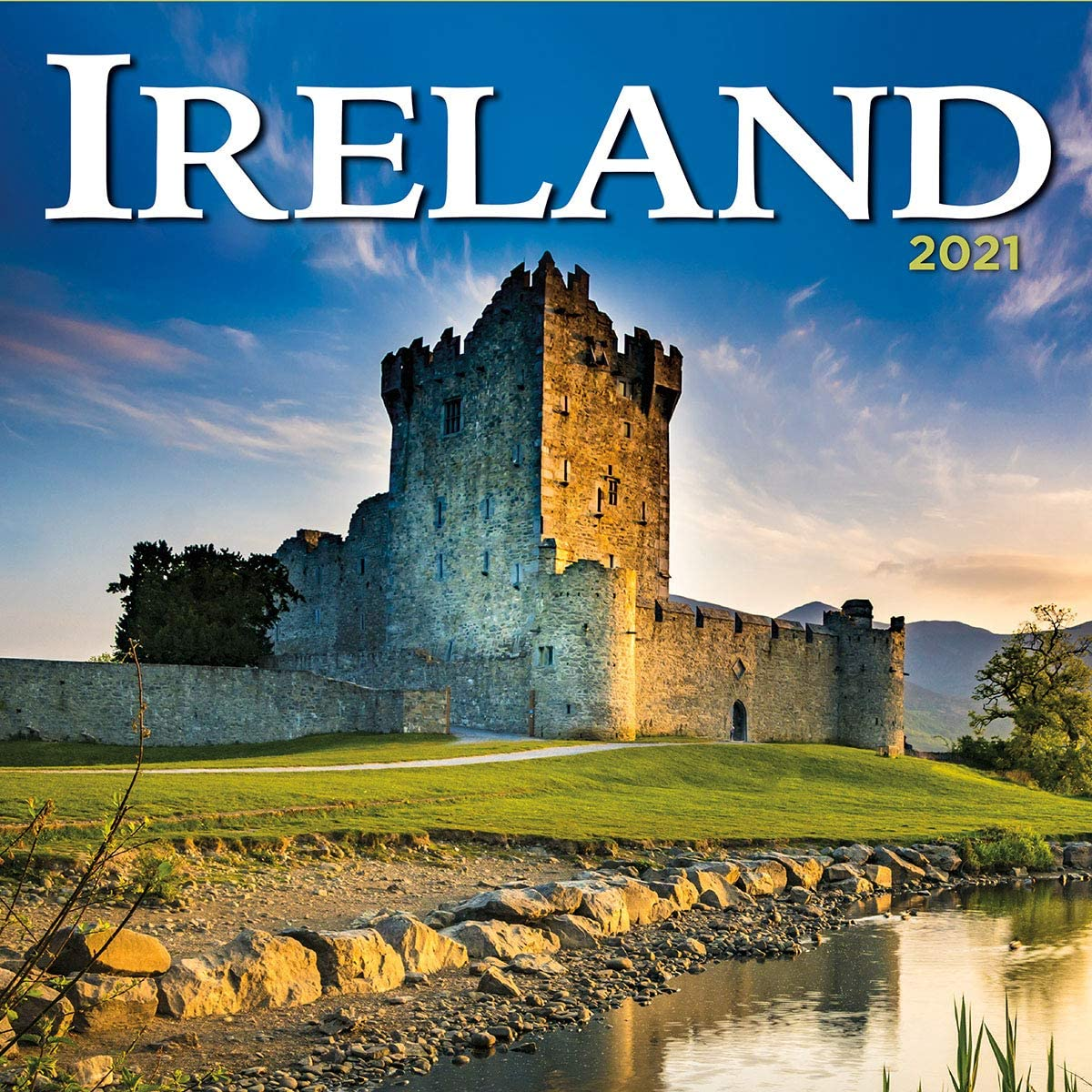 Turner Photo Ireland 2021 Photo Wall Calendar (21998940029), 12 inch x 24 inch