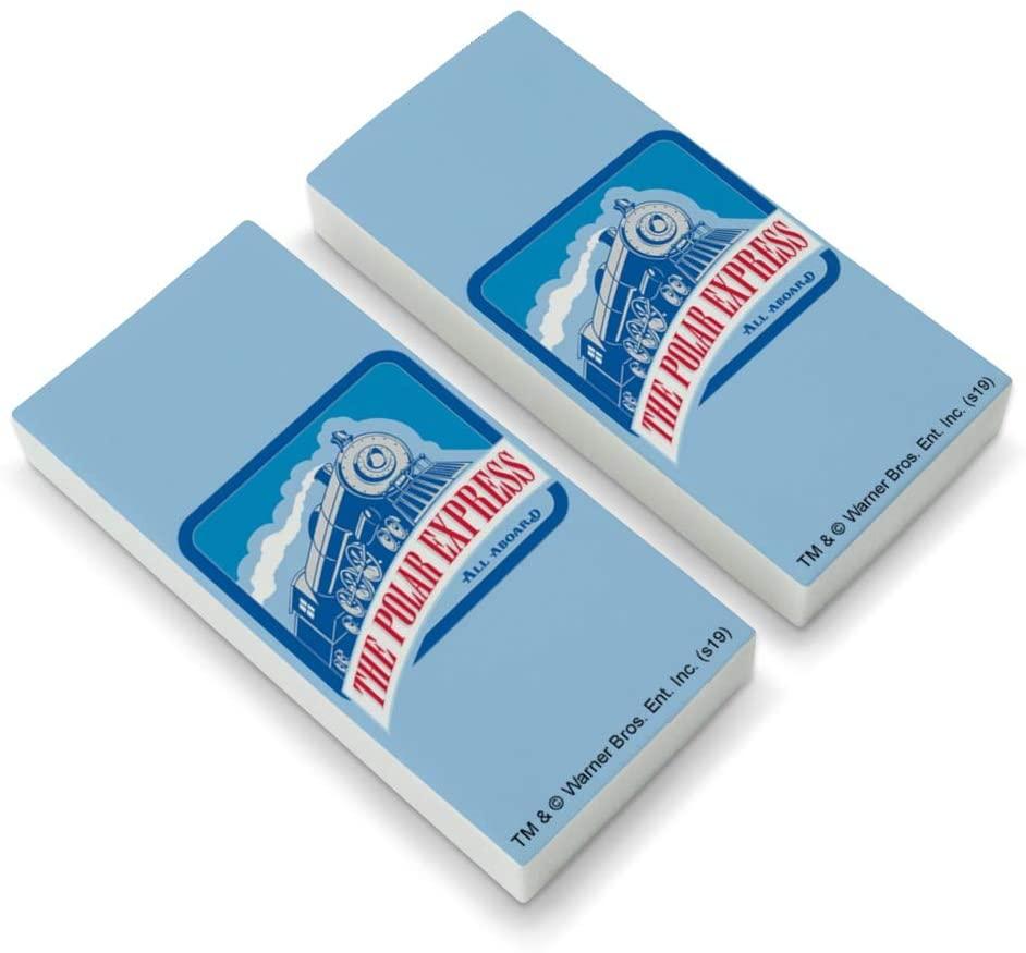 The Polar Express All Aboard Eraser Set of 2