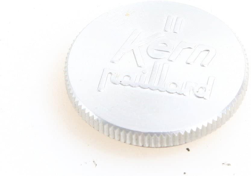 RARE- KERN PAILLARD BOLEX APPROX. 21MM SCREW IN ALUMINUM LENS CAP