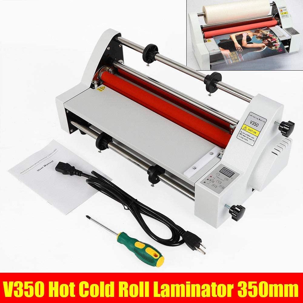Hot Cold Roll Laminator, 110V 13