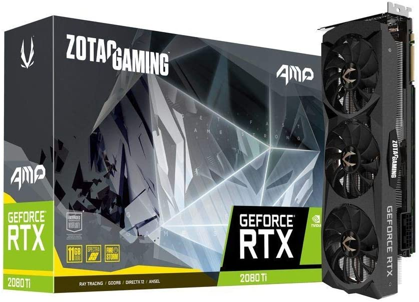 ZOTAC ZT-T20810D-10P Gaming Geforce RTX 2080 Ti AMP Graphic Cards