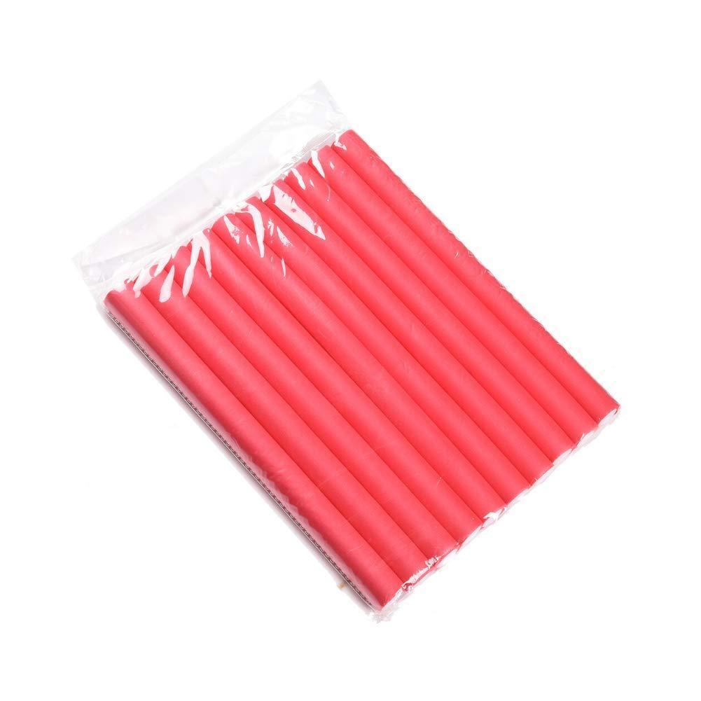 Twist Foam Hair Rollers Bendy Foam Flexible Curling Rods- Hair Curlers Rollers for Short, Medium and Long Hair Diamerter 1.8cm(1pack)