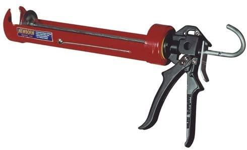 Newborn 255 1/4GL 1/4 Gallon Super Smooth Rod Caulk Gun