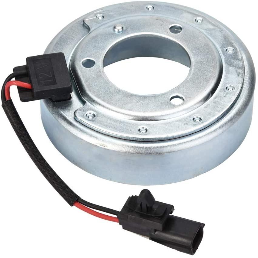 AC Air Con Compressor Clutch Coil, A/C Compressor Clutch Coil for Nissan Rogue 08-13 Murano 3.5L 09-14 CC-ROG0813