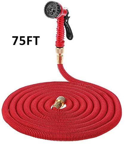 HEEGNPD 25ft-100ft Multi-Functional Garden Hose Expandable Flexible Water Hose Pipe Watering Kits with Spray Gun Irrigation System