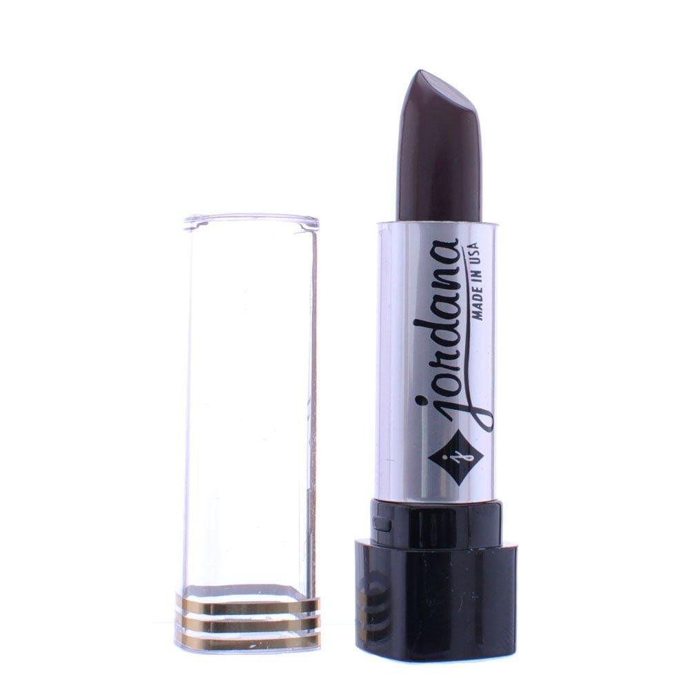 Jordana 3 Pcs Dazzling Color Lipstick Smooth Shades 127 Brown